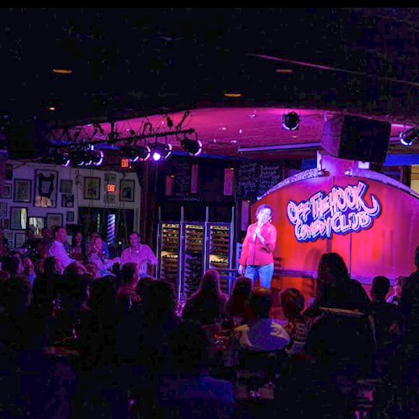 Naples, Florida's Off the Hook Comedy Club offers 4 to 6 shows each week. Enjoy a complete dinner menu and full bar for all shows Thursday through Sunday. Must Do Visitor Guides, MustDo.com