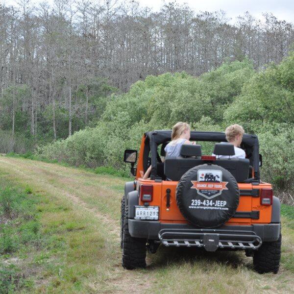 Orange Jeep Tours eco wildlife tour Ave Maria, FL