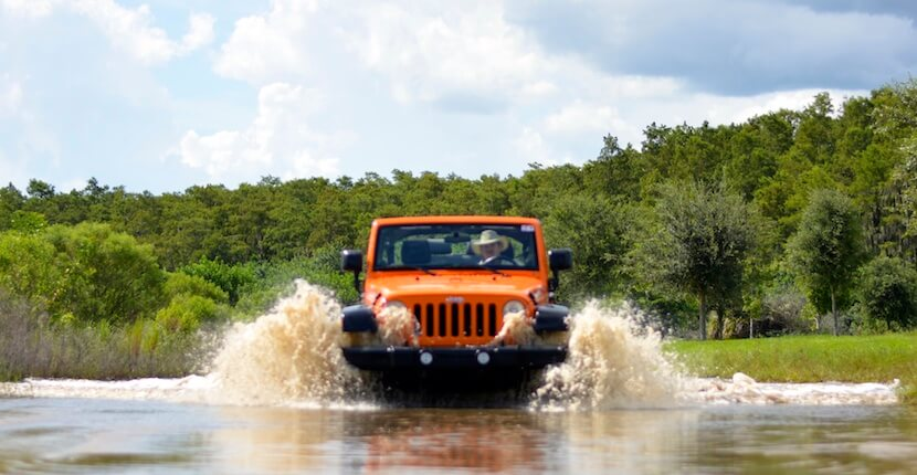 Orange Jeep Tours offer family-friendly, engaging, intimate, and personal 90-minute narrated off-road eco tour through wetlands and uplands in Ave Maria, Florida. |Must Do Visitor Guides, MustDo.com
