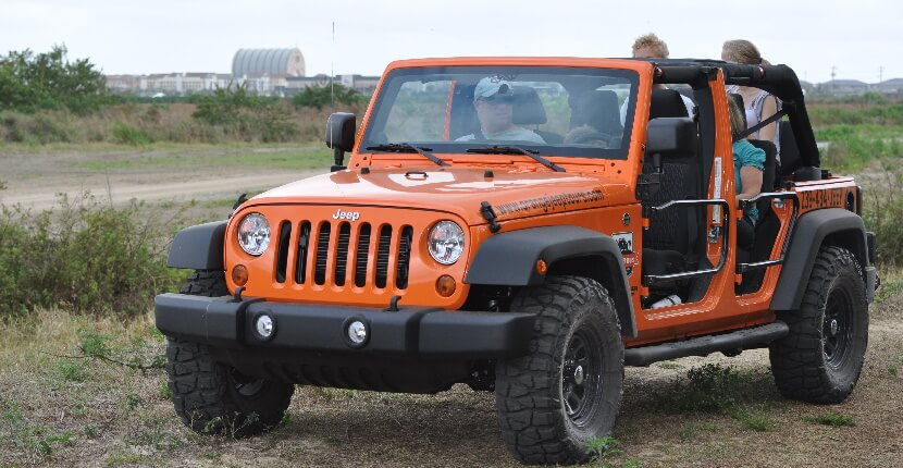 MustDo.com | Orange Jeep Tours offer engaging, intimate, and personal 90-minute narrated off-road eco tour through wetlands and uplands in Ave Maria, Florida.