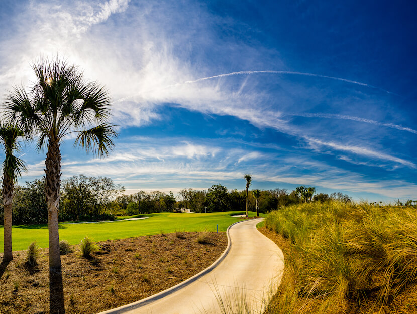 Sarasota public golf course Esplanade Golf & Country Club Lakewood Ranch, Florida. Must Do Visitor Guides, MustDo.com.