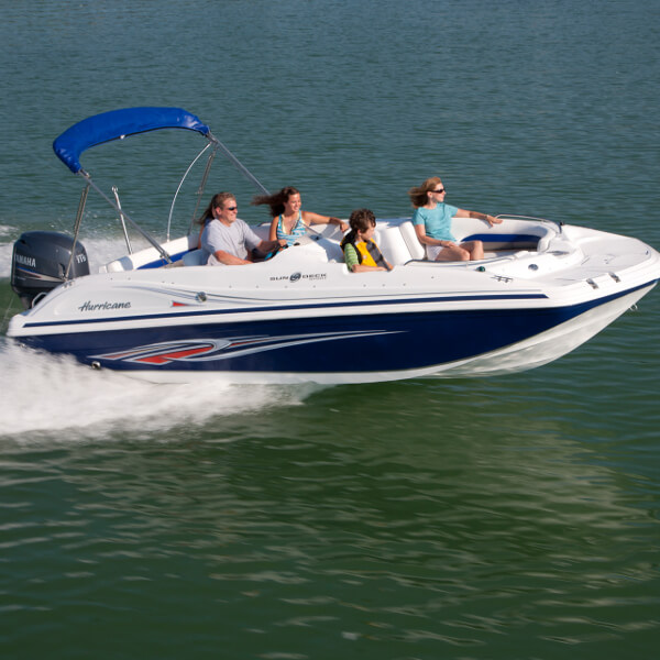 MustDo.com | Pure Naples boat rentals - Families can rent a Hurricane Deck Boat for a day of family fun to explore and experience nature at its best in Naples, Florida.