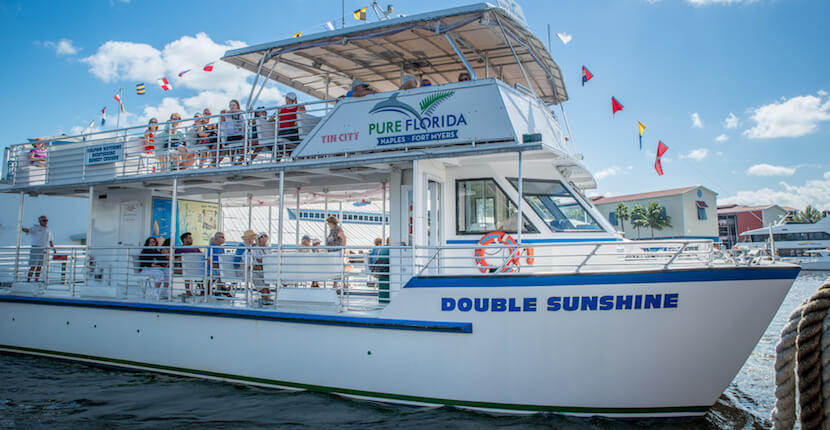 MustDo.com | The entire family will enjoy a sightseeing tour, dolphin watch, or sunset cruise with Pure Florida in Naples, Florida. Photo by Jennifer Brinkman.