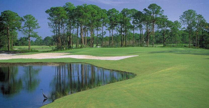 MustDo.com | Raptor Bay Golf Club in Bonita Springs, Florida is a 6,702-yard course set in a stunning wildlife preserve.