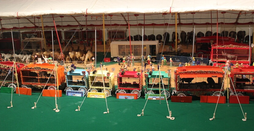 The Ringling Circus Museum offers visitors a snapshot of circus history, with lavish costumes, clown and performing arts memorabilia, and the intricately painted and carved wagons of the world's largest miniature circus, The Howard Bros. Circus Model. Must Do Visitor Guides, MustDo.com