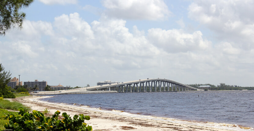 Mustdo Sanibel Island Causeway Beaches Are Located Just After The Toll Booth To