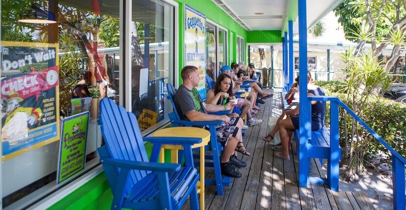 "MustDo.com | Pinocchio's Original Italian Ice Cream Sanibel Island, Florida. Winner Best of the Islands 2015 ""Best Ice Cream and Gelato"". Photo by Mary Carol Fitzgerald."
