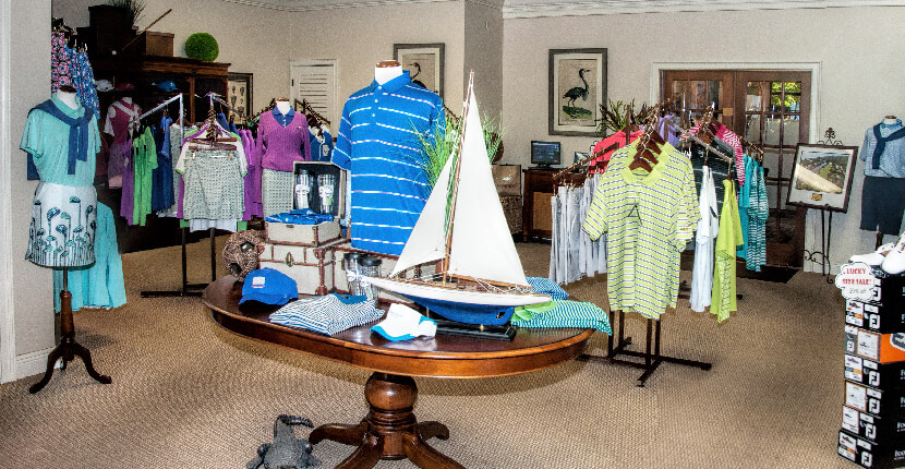 MustDo.com | Sanibel Island Golf Club Pro Shop offers a variety of high-quality men's and women's golf equipment and apparel.