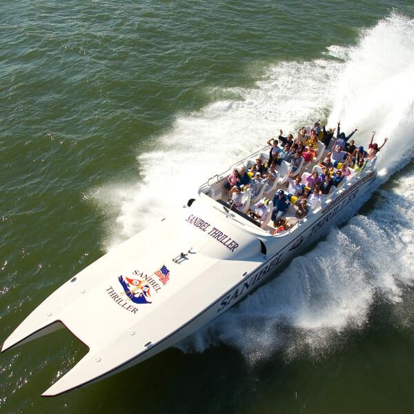 Sanibel Thriller boat tour