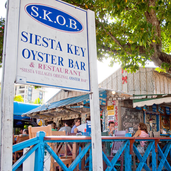 Siesta Key Oyster Bar Siesta Key, Florida. Must Do Visitor Guides, MustDo.com