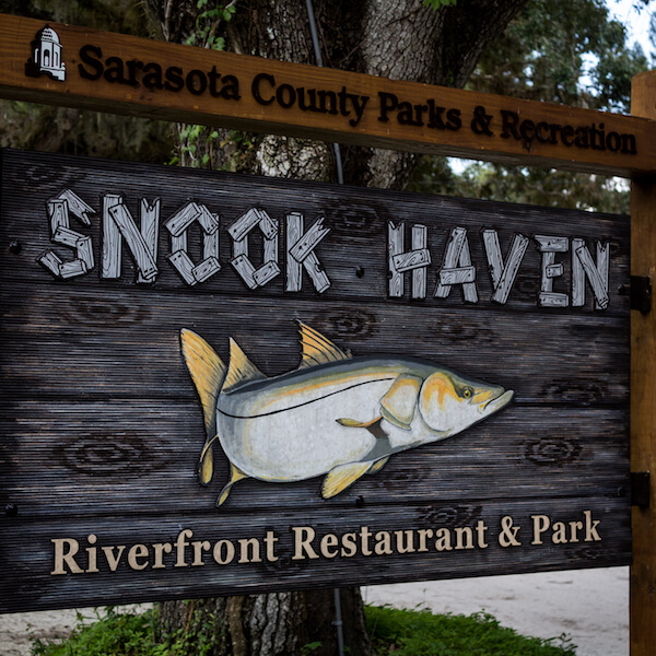 Snook Haven Experience Old Florida with a relaxing day of fishing or exploring the serene Myakka River with a canoe or kayak rental. Sarasota, Florida. Photo by Elizabeth Barnett. Must Do Visitor Guides, MustDo.com