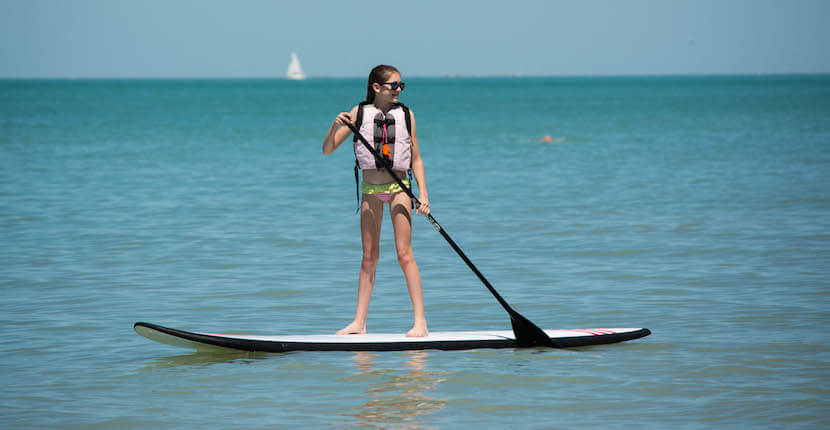 Mustdo Naples Beach Water Sports Fun Activities Stand Up Paddleboard On Gulf Of