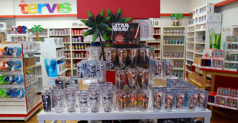 Tervis Factory Outlet Osprey, Florida Star Wars insulated drinkware. Must Do Visitor Guides, MustDo.com