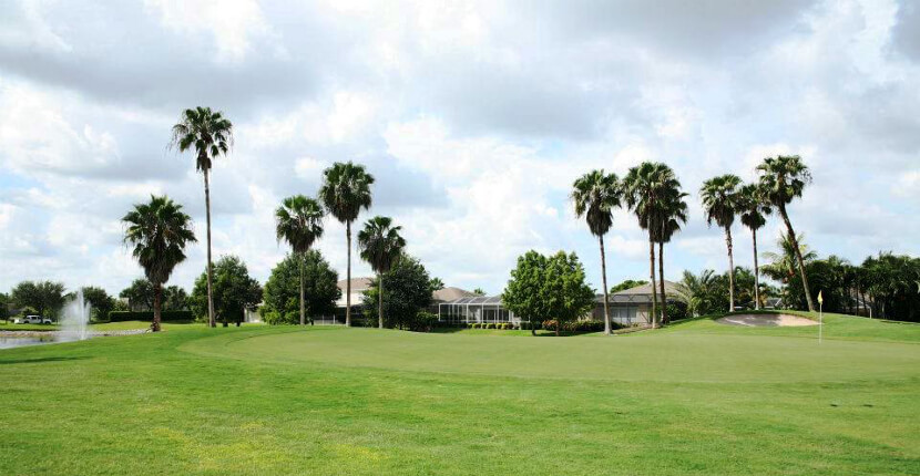 "MustDo.com | Stoneybrook Golf Club in Estero (near Fort Myers), Florida features wide fairways, large greens, and is ""Beginner Friendly"" certified by the National Golf Course Owners Association."