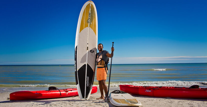 Sundial Beach Resort & Spa onsite amenities include paddle board and kayaks. Sanibel Island, Florida | MustDo.com