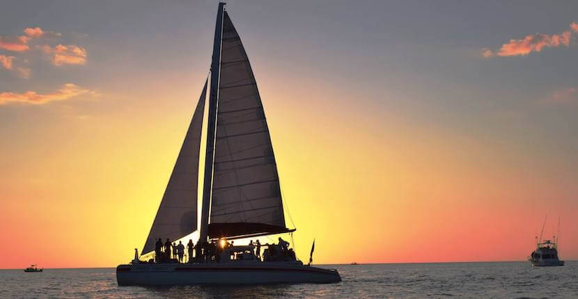 Sweet Liberty Catamaran Shelling, Sightseeing, and Sunset Sailing Cruises Naples, Florida. Must Do Visitor Guides Florida vacation information. #naplesfl #sailing #vacation #florida