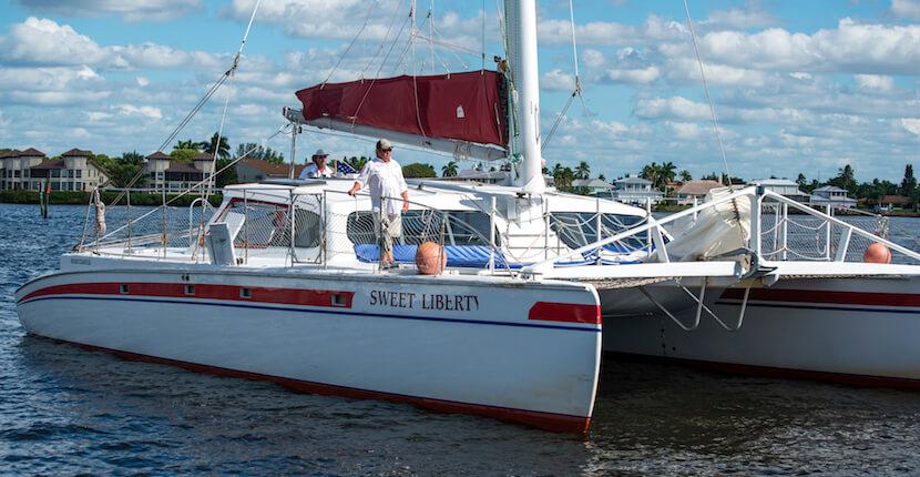 MustDo.com | Sweet Liberty Catamaran Shelling, Sightseeing, and Sunset Sailing Cruises Naples, Florida. Must Do Visitor Guides Florida vacation information.