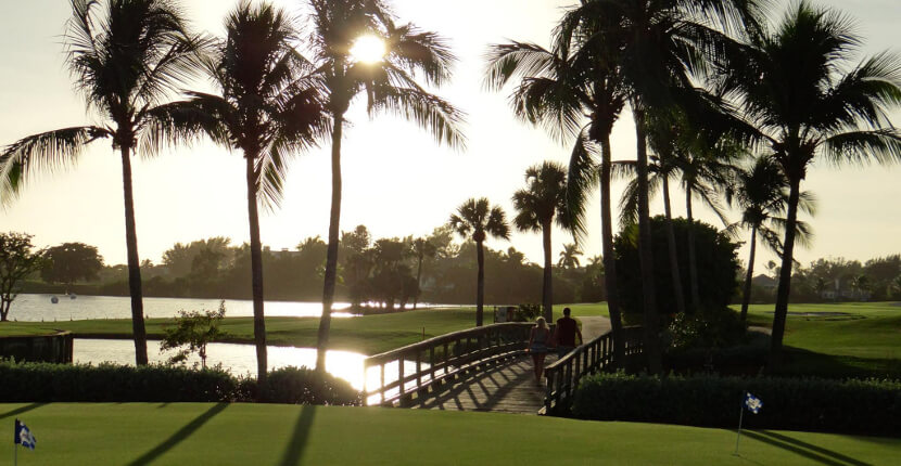 MustDo.com | The Dunes Golf & Tennis Club, this Sanibel Island golf course has a challenging layout with water obstacles and peninsulas on 17 of the 18 holes. Strategically placed bunkers, crosswinds, slopes, and elevations add to the challenging play for all skill levels.