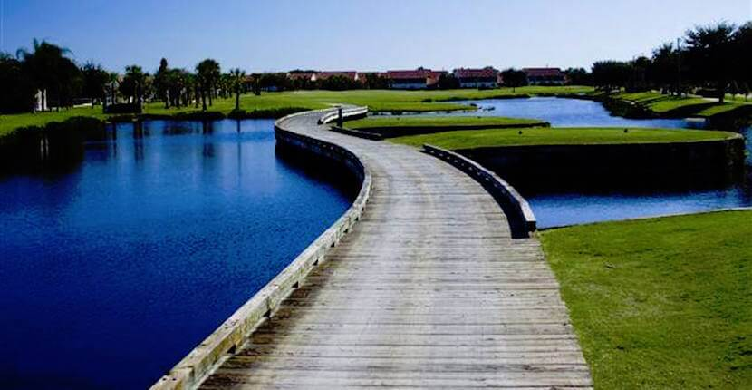 Designed with the natural Florida wetlands in mind, The Preserve Golf Club in Bradenton, Florida is a challenging public golf course where 52 lakes directly affect play on nine holes. Must Do Visitor Guides, MustDo.com