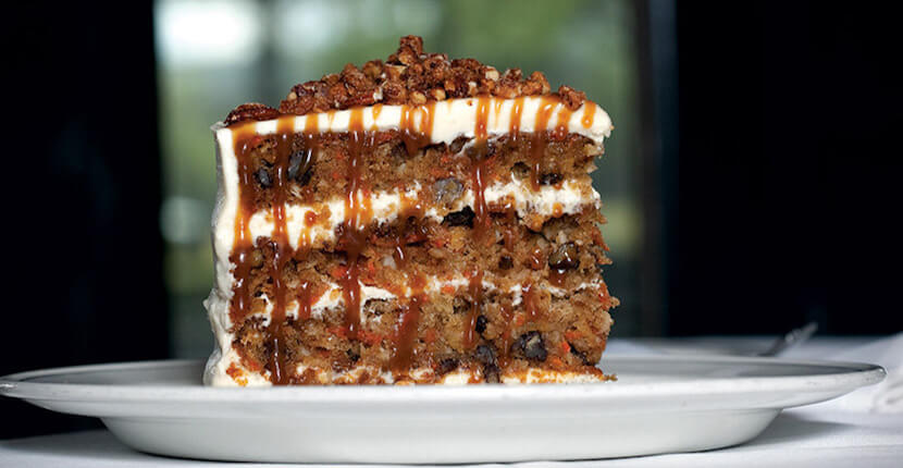 MustDo.com | Carrot Cake Dessert at Truluck's Award-Winning Steak and Seafood Restaurant in the Heart of Old Naples, Florida.