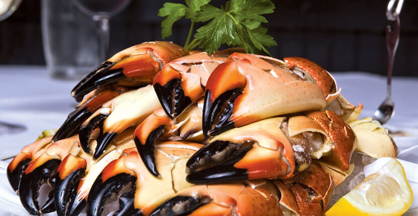 MustDo.com | Stone crab at Truluck's Award-Winning Steak and Seafood Restaurant in the Heart of Old Naples, Florida.