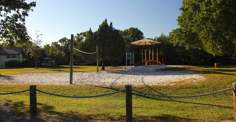 Playground at Turtle Beach Siesta Key Sarasota, Florida USA. Must Do Visitor Guides, MustDo.com.