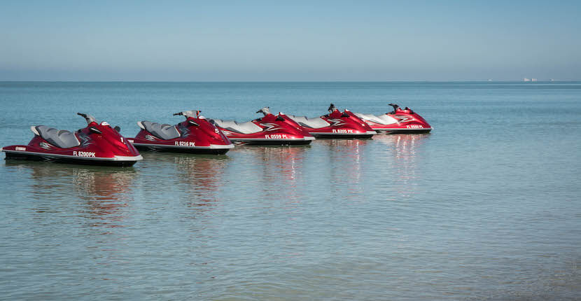 Naples Beach Water Sports fun activities Waverunner rentals and tours Half hour and full hour rentals are available on Vanderbilt Beach, Naples, Florida.