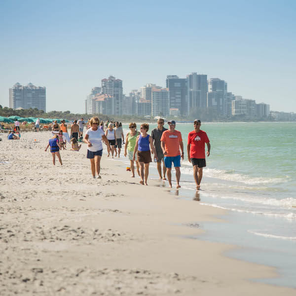 Vanderbilt Beach Park is a popular North Naples, Florida beach that has gorgeous powdery white sand and is close to area hotels, restaurants and shopping. Must Do Visitor Guides.