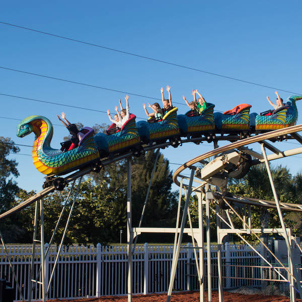 MustDo.com | Zoomer's Amusement Park in Fort Myers, Florida features a wide range of fun activities and rides for kids and adults.
