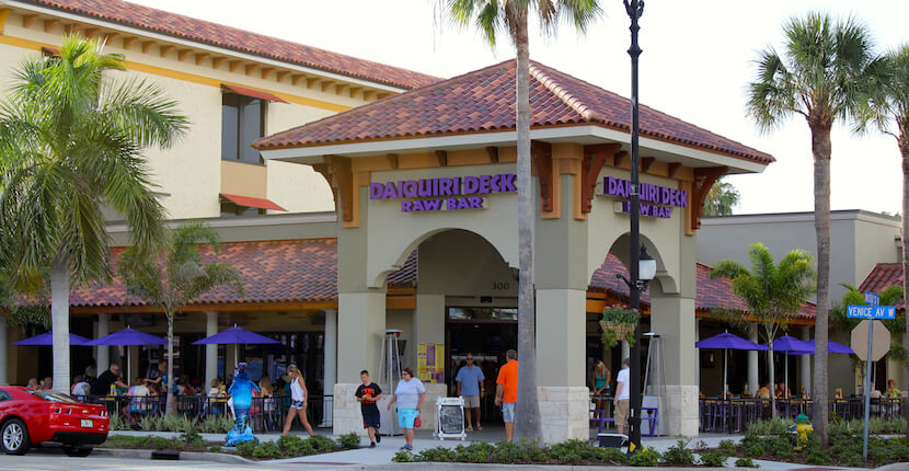 Daiquiri Deck Restaurant and Raw Bar Venice, Florida USA, Must Do Visitor Guides