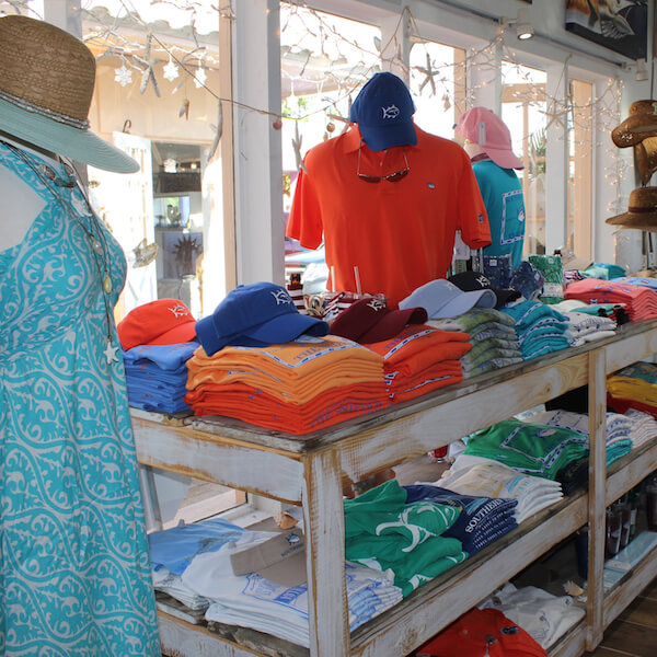 Island Trader boutique shopping Siesta Key Village Sarasota, Florida. Must Do Visitor Guides, MustDo.com.