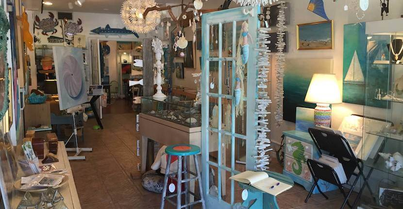 The Gallery on Siesta Key art and gift shop Sarasota, Florida. Must Do Visitor Guides, MustDo.com