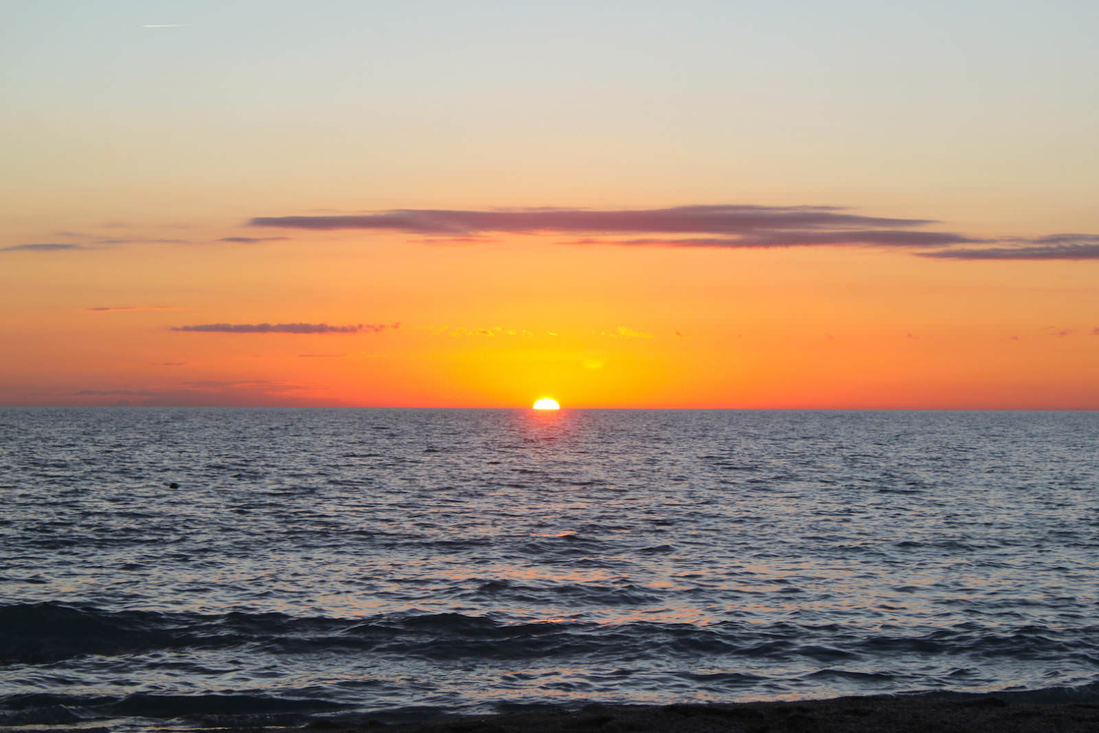 Gulf of Mexico sunset Florida USA. Must Do Visitor Guides, MustDo.com