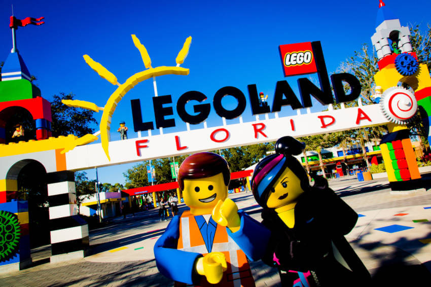 LEGOLAND Florida See LEGO come to life amidst more than 50 rides, shows and attractions and special movie-themed fun all geared for families with children ages 2 to 12. (PHOTO / LEGOLAND Florida, Merlin Entertainments Group, Chip Litherland)