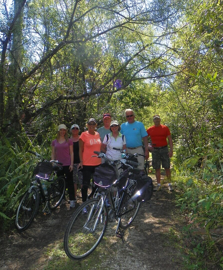Naples guided Bicycle Tours through the Everglades. Must Do Visitor Guides, MustDo.com.