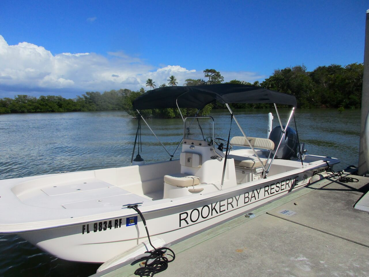 Taking a boat tour of Rookery Bay Reserve is a wonderful way to learn about Florida history, plants, and wildlife with access to areas of significance. Must Do Visitor Guides, MustDo.com.