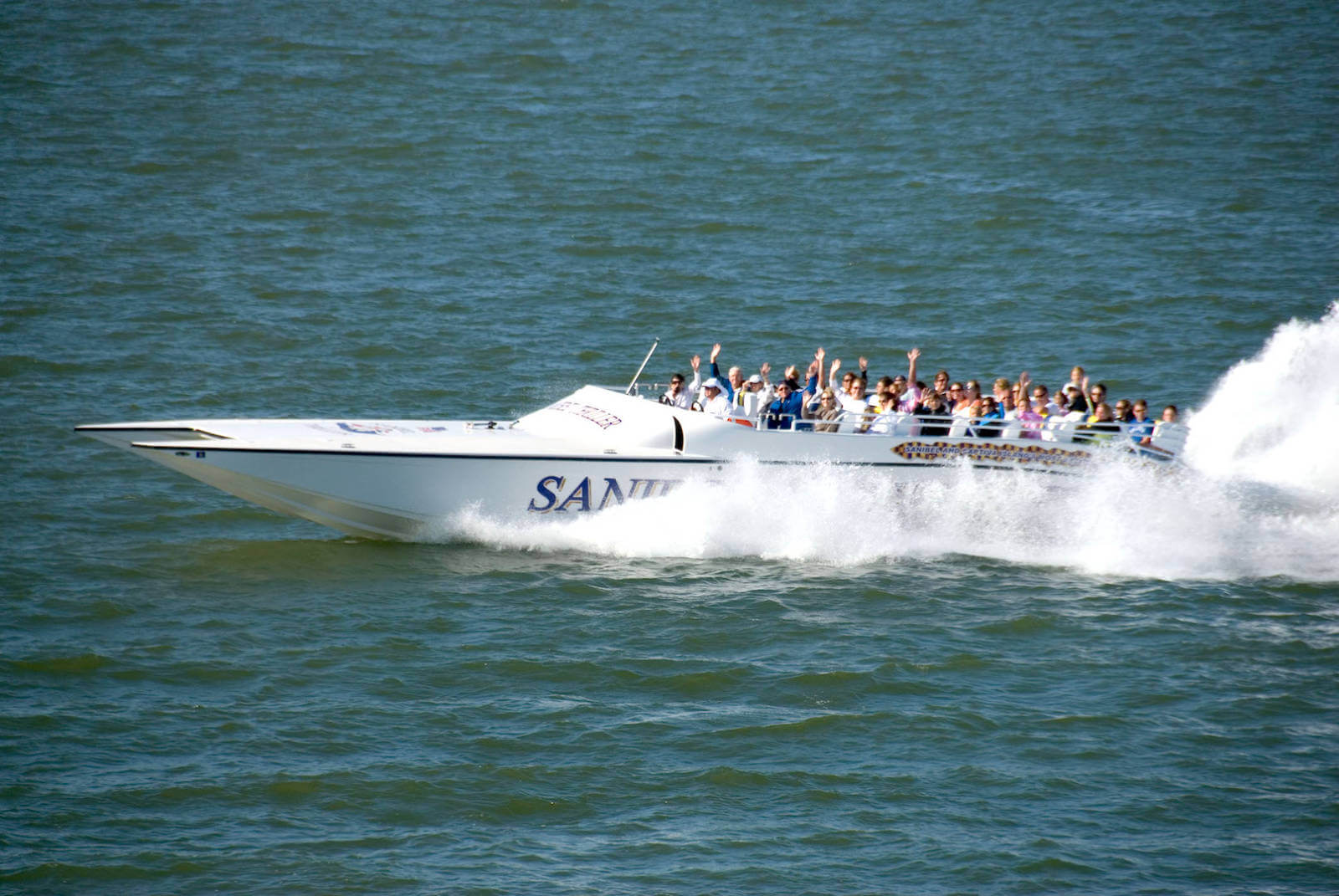 Thriller Boat Tour Sanibel