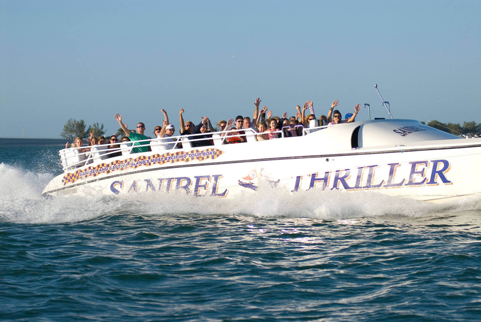 High Speed Thrills Aboard The Sanibel Thriller Must Do
