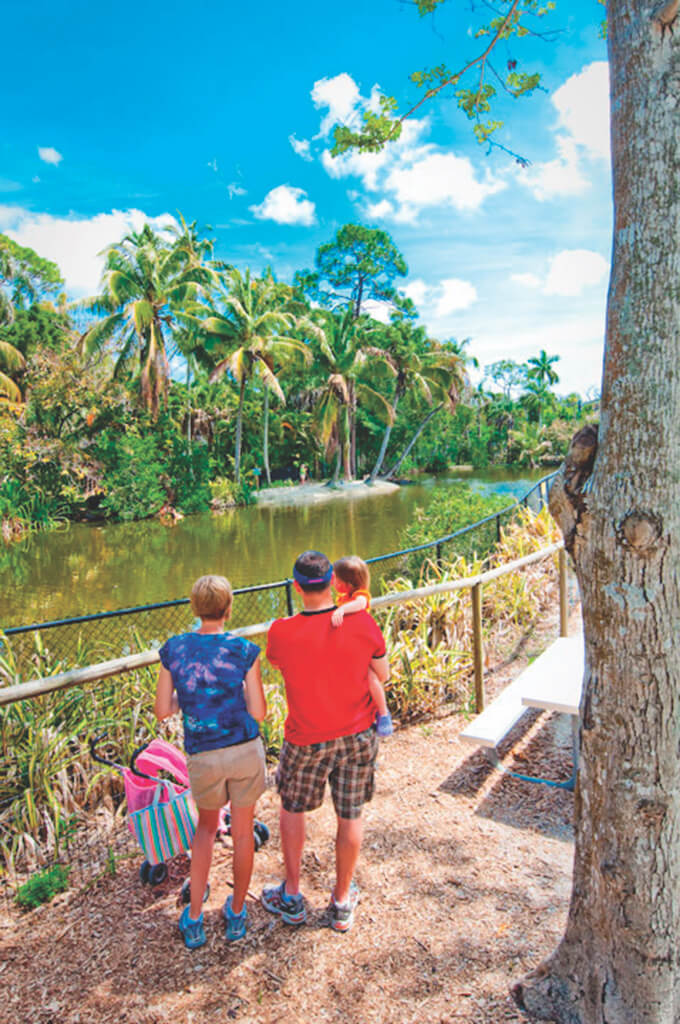 Families love the Naples Zoo at Caribbean Garden, Naples, Florida, USA. Photo by Debi Pittman Wilkey. Must Do Visitor Guides, MustDo.com