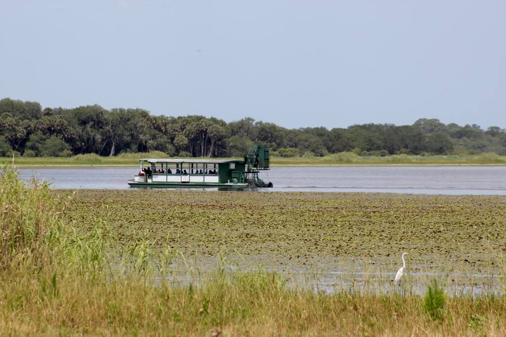 Mayaka River State Park eco tour on the worlds largest airboat Sarasota, Florida. | Must Do Visitor Guides