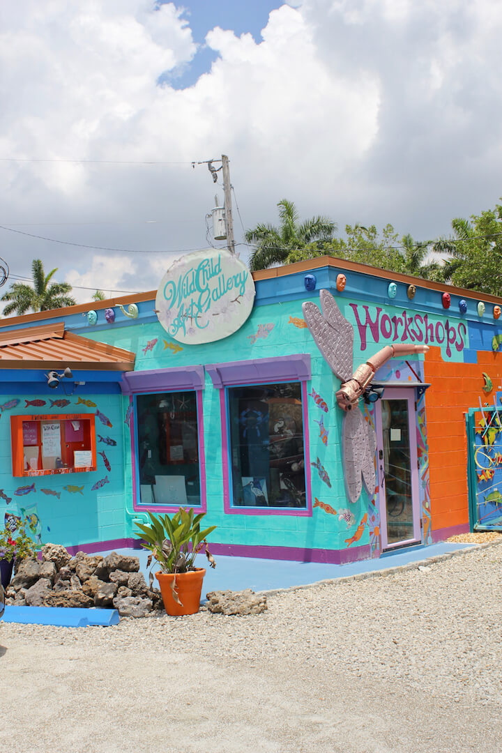 Wildchild Art Gallery Matlacha, Florida. | Must Do Visitor Guides