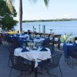 Enjoy the award-winning dinner menu, fine wines, Sunday Brunch, celebrate a wedding or anniversary overlooking Little Sarasota Bay at Ophelia's on the Bay in Siesta Key, Florida. | Must Do Visitor Guides