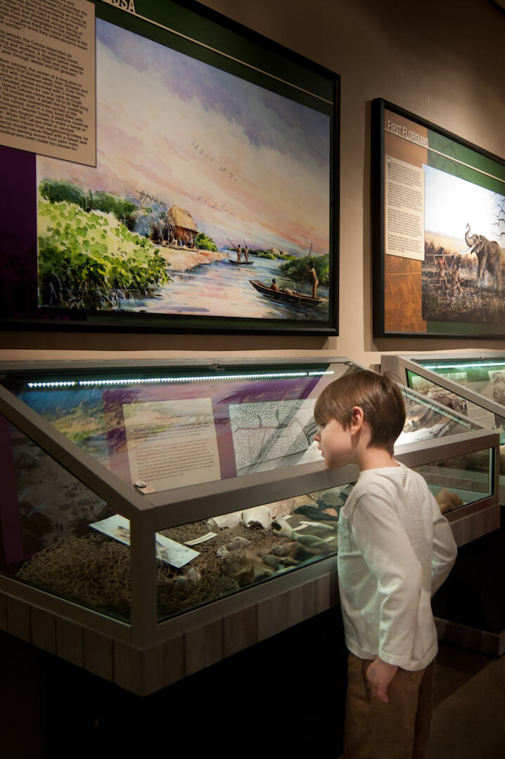 Learn about the unique history of Southwest Florida from prehistoric saber-toothed cats, Calusa and Seminole tribes, to early Florida pioneers and 1920s residents at the Collier Museum in Naples, Florida. | MustDo.com