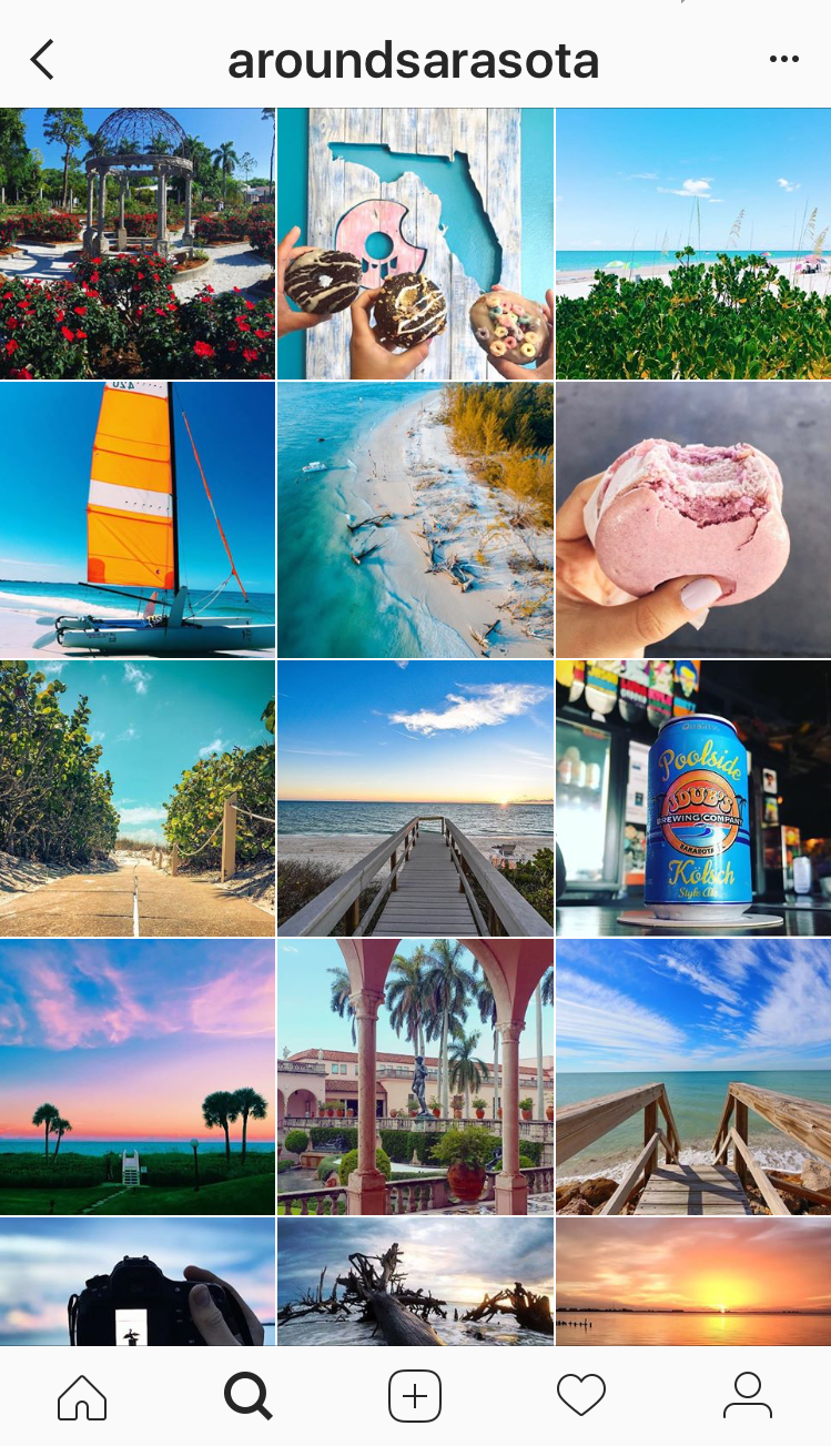 Featuring photos from all over Sarasota, @aroundsarasota is a treasure trove of Sarasota, Florida vacation Instagram inspiration! | Must Do Visitor Guides
