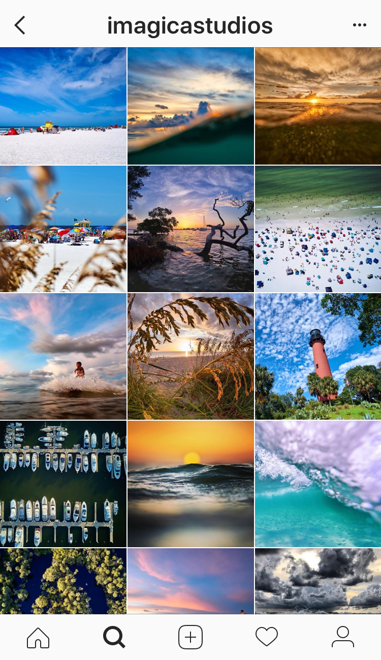 Sarasota based commercial photographer Perry Johnson @imagicastudios fills his Instagram feed with beautiful photos of Siesta Key from underwater and on land. | Must Do Visitor Guides