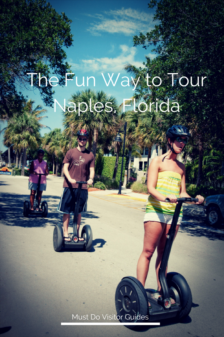 The most fun way to explore Naples, Florida is on a Segway with Segway of Naples! #naplesflorida #vacation #thingstodo #segway