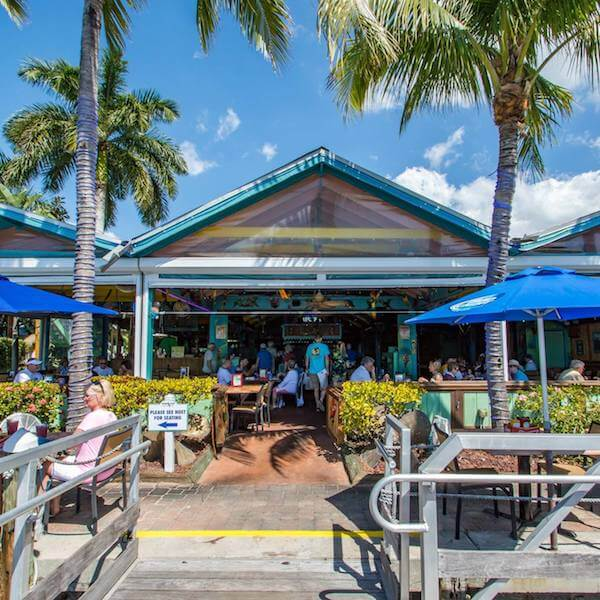 Enjoy Award Winning Caribbean Inspired Cuisine In A Casual Open Air Fort Myers