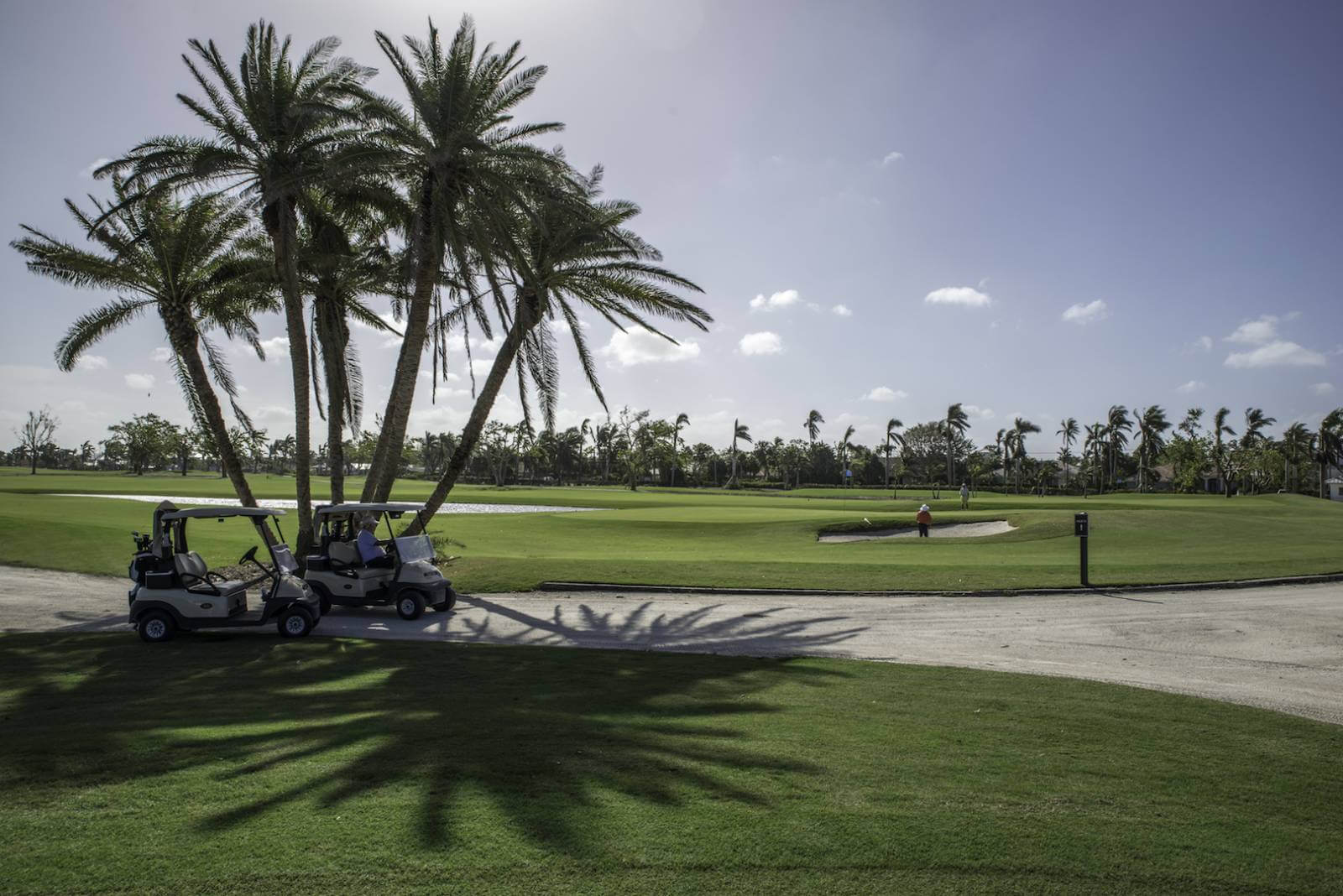 Naples has earned its title as the Golf Capital of the World with more golf holes per capita than anywhere else. Naples Beach Hotel & Golf Club. Photo by Jennifer Brinkman.