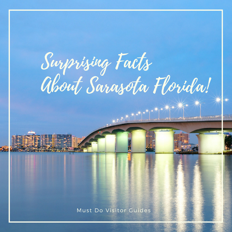 Whether you live in Sarasota or are just visiting, we have some fun facts to share about this beautiful city in Southwest Florida. | Photo by Charlie White. Must Do Visitor Guides, MustDo.com