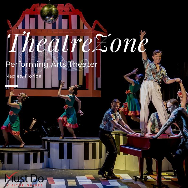 TheatreZone is a Professional Equity Theatre in Naples, Florida which attracts top national actors to perform in its outstanding program of Broadway favorites.